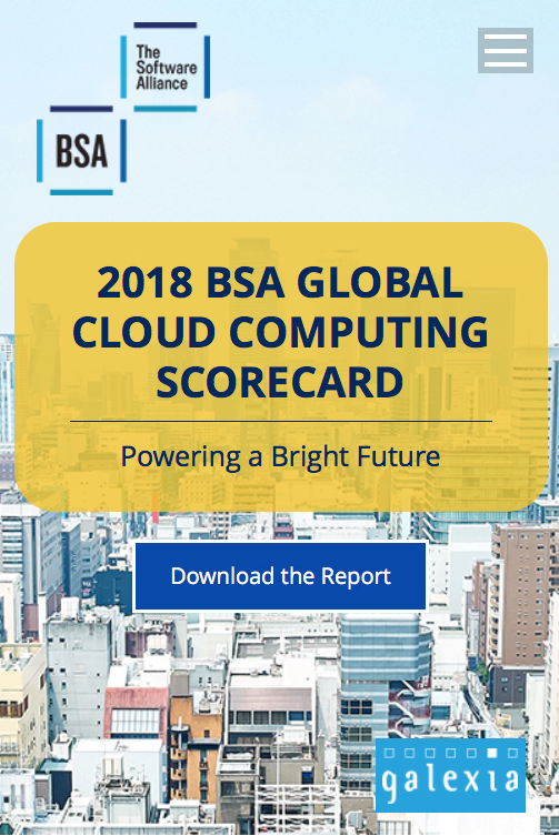 [2018 Global Cloud Computing Readiness Scorecard]
