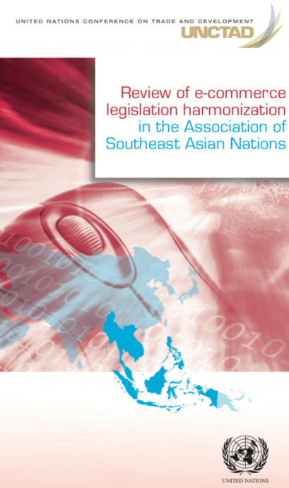 [Review of E-commerce Legislation Harmonization in ASEAN (2013)]